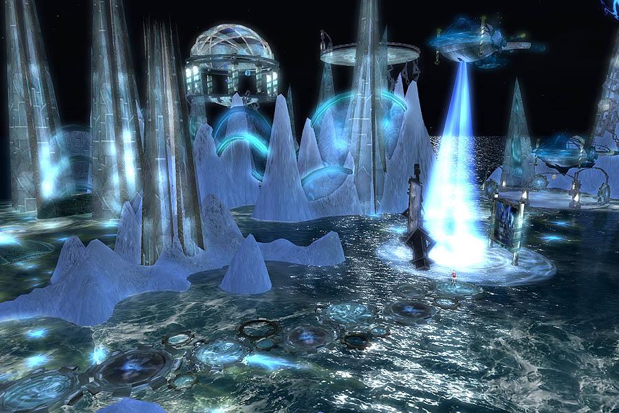 LANDMARKS:微妙な宇宙都市